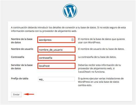 Cómo instalar WordPress - Tutorial de instalación en español