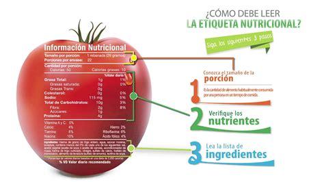 ¿Cómo leer la etiqueta nutricional? - YouTube