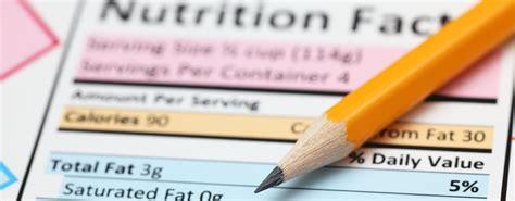 ¿Cómo leer una etiqueta nutricional?