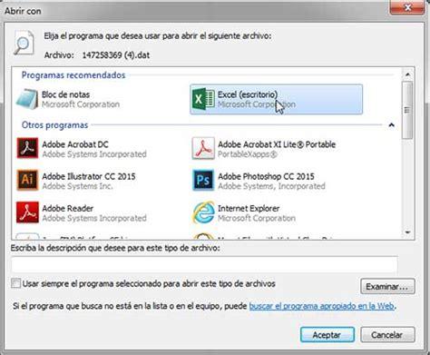 Cómo leer y abrir archivos .DAT en Windows   ComoFriki