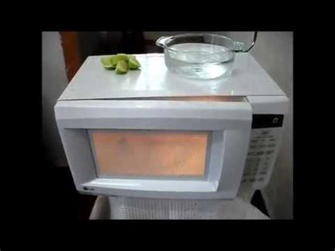 Cómo limpiar el microondas fácil y rápido. | Doovi