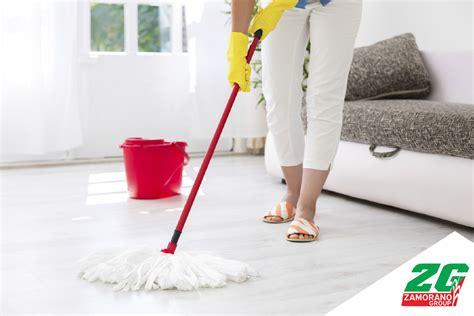 ¿Cómo limpiar pisos de cerámica, madera o mármol? - El ...