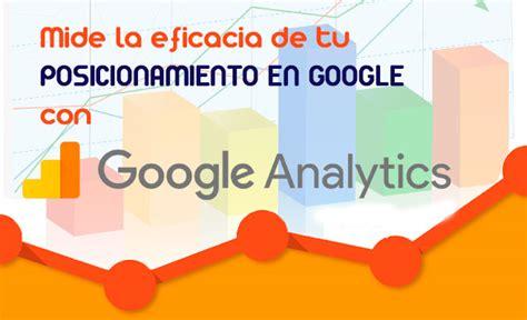 Cómo medir la eficacia de tu posicionamiento en Google con ...