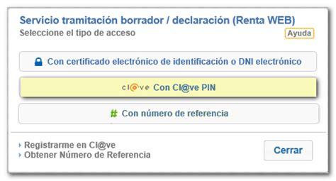 Cómo obtener el borrador o declaración en Renta WEB con Cl ...