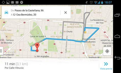 Cómo obtener rutas de un punto del mapa a otro en el nuevo ...