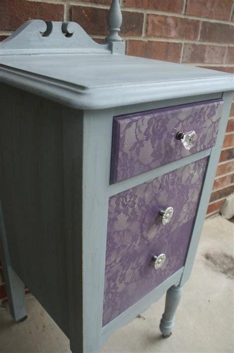 Como Pintar Muebles Efecto Encaje
