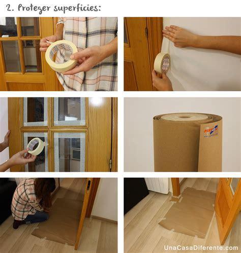 Cómo pintar puertas de madera en blanco  sin lijar    Una ...