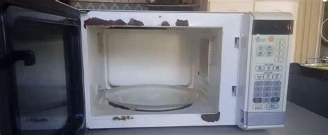 Como pintar un microondas por dentro. Si esta oxidado es ...