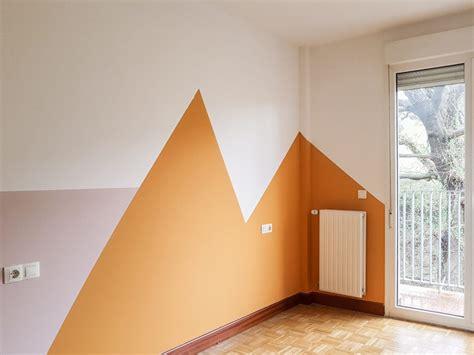 Como pintar una habitación infantil con formas geométricas
