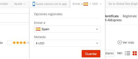 Cómo poner AliExpress en español y en Euros - NOVIEMBRE 2016