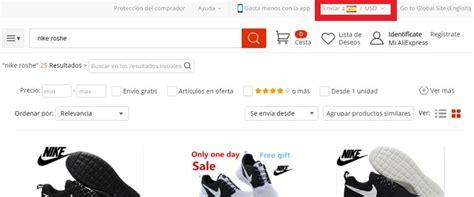 Cómo poner AliExpress en Español y en Euros – junio 2018