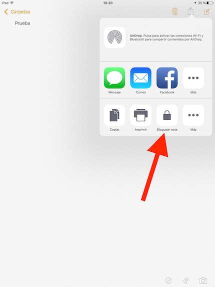 Cómo poner contraseñas a tus notas con iOS 9.3 | iPhoneA2