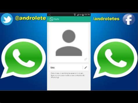 Como poner foto de perfil sin recortar en WhatsApp ...