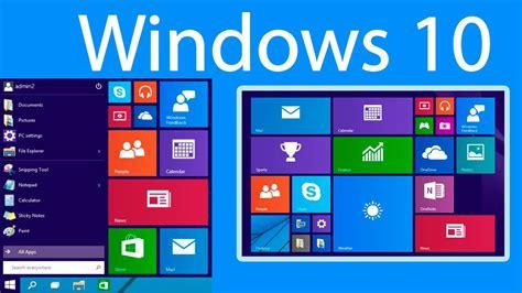 Como poner la interfaz metro en Windows 10 - YouTube