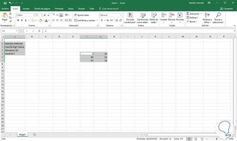 Cómo poner o cambiar línea de bordes celdas Excel 2016 ...