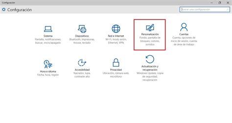 Como poner un acceso directo a la configuración de Windows ...