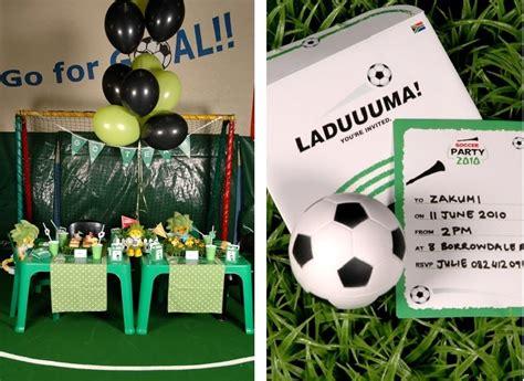 Cómo preparar una Fiesta Futbolera   LaCelebracion.com