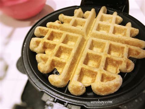 Como preparar Waffles con Avena - Receta Fácil - Vero Hoy