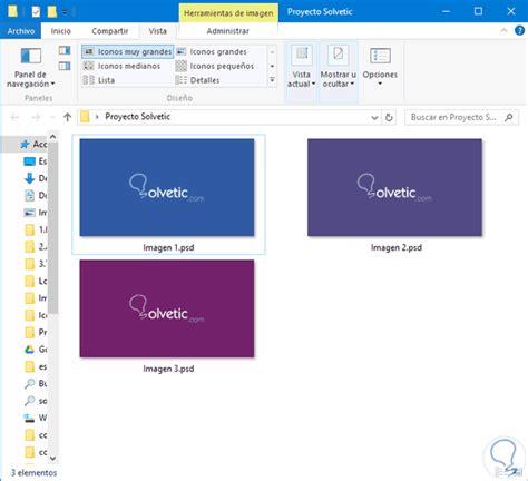 Cómo previsualizar archivos PSD en Windows 10   Solvetic