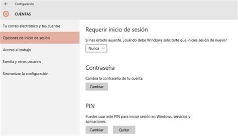 Cómo quitar la contraseña de inicio en Windows 10 ...