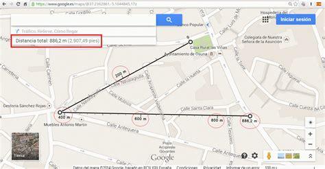 Como realizar la medición de distancias en Google Maps.