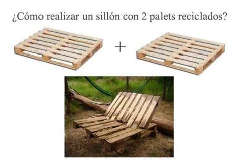 Cómo realizar un sillón con 2 palets - Notas - La Bioguía