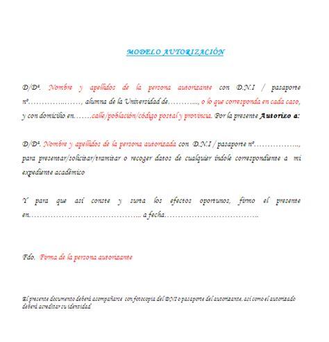 COMO REALIZAR UNA AUTORIZACIÓN | El blog de Almudena