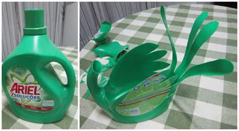 Cómo reciclar botellas grandes de detergente ~ lodijoella