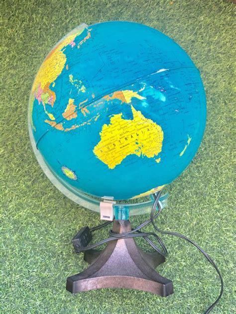 Cómo reciclar una bola del mundo en una lámpara infantil ...