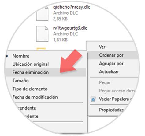 Cómo recuperar archivos recientemente borrados en Windows ...
