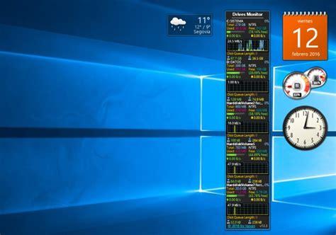 Cómo recuperar los gadgets de escritorio en Windows 10