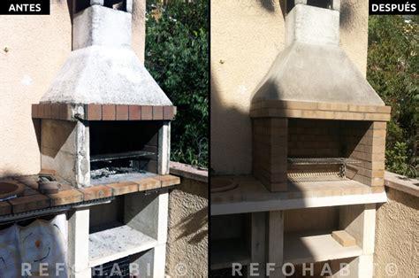 Cómo reformar barbacoa de obra en terraza de piso