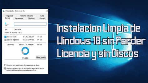 Como reinstalar o formatear Windows 10 sin perder Licencia ...