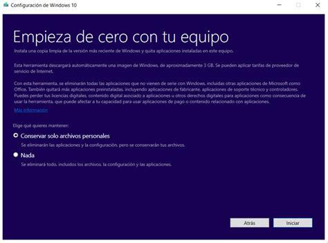 ¿Cómo restaurar Windows 10 con facilidad?