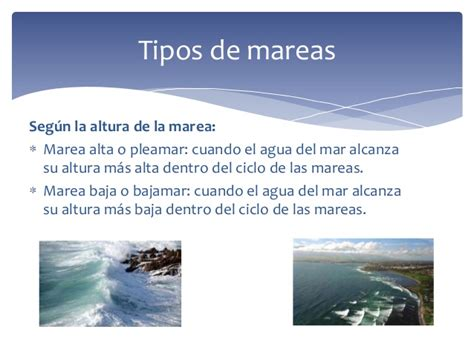 Cómo se producen las mareas