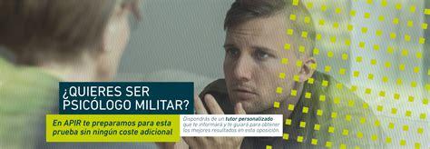 ¿Cómo ser psicólogo militar?