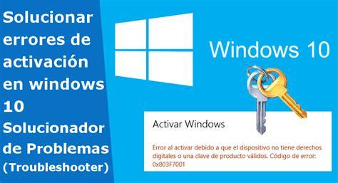 Como Solucionar El Problema De Activacion De Microsoft ...