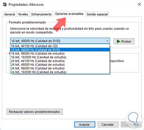 Cómo solucionar error sin sonido en Windows 10   Solvetic