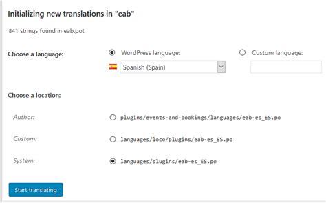 Cómo traducir tu tema o plugin de WordPress con Loco ...