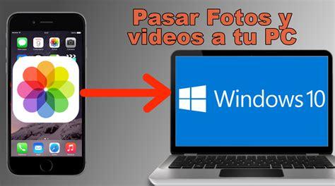 Como transferir fotos y videos de tu iPhone a tu ordenador ...