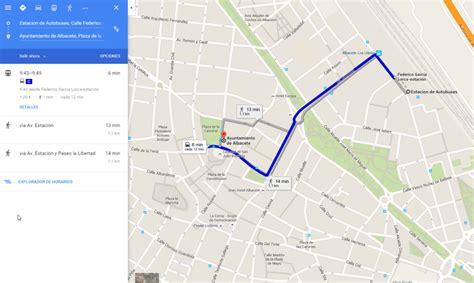 Cómo usar Google Maps para ver tus rutas en bus en Albacete
