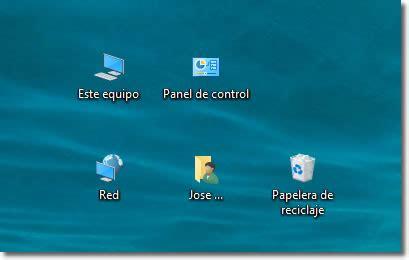 Cómo ver el icono de EQUIPO (Mi PC) en el escritorio de ...