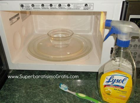 ¿Cómo y cuando limpiar tu Microondas? | Súper Baratísimo ...