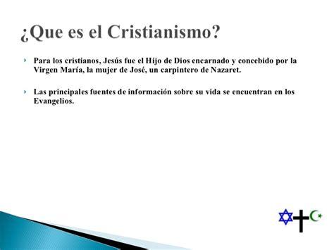Comparacion Del Cristianismo Y Judaismo