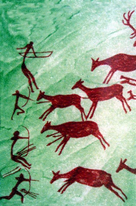 Comparación entre las pinturas paleolíticas y neolíticas