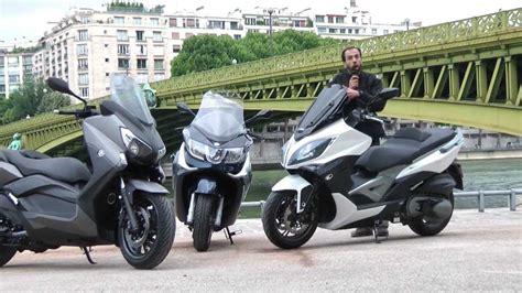 Comparatif maxi scooters : Yamaha X Max 400, Piaggio X10 ...
