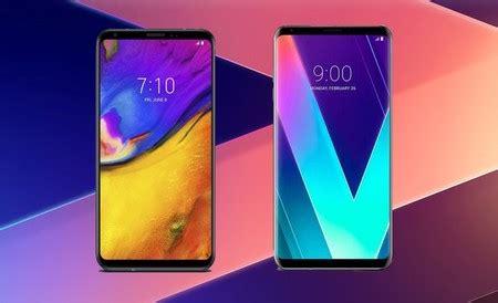 Comparativa LG V35 ThinQ vs LG V30S vs LG V30
