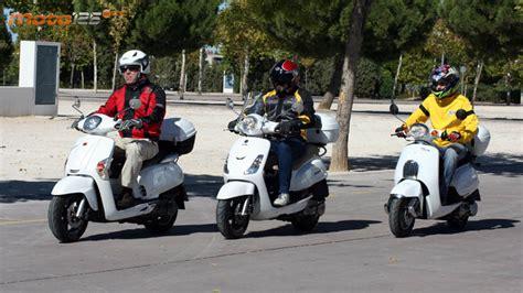 Comparativa - Scooters Retro 125 con baúl: Besbi/Like ...