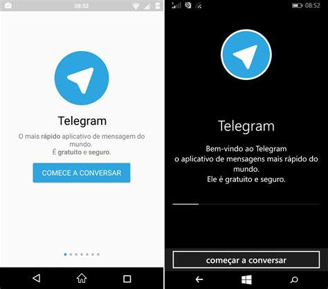 Comparativo de Apps #11 : Telegram  Android x Windows ...