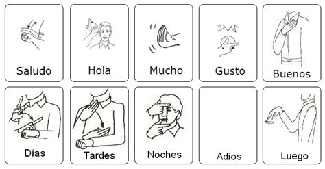 Compartir Signos (SORDOS): Saludos (LSM) | Braile y LSM ...